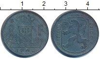 Изображение Дешевые монеты Бельгия 1 франк 1945 Цинк VF+