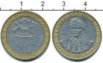 Изображение Дешевые монеты Чили 100 песо 2006 Биметалл XF-