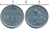 Изображение Дешевые монеты Европа Бельгия 50 сантим 1928 Медно-никель VF+
