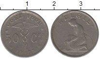 Изображение Дешевые монеты Бельгия 50 центов 1925 Медно-никель VF