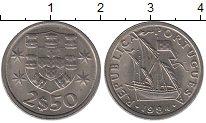 Изображение Дешевые монеты Португалия 2 1/2 сентима 1984 Медно-никель XF