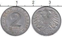 Изображение Дешевые монеты Австрия 2 гроша 1950 Алюминий XF