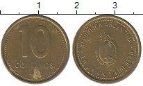 Изображение Дешевые монеты Аргентина 10 сентаво 1993 Бронза VF