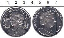 Изображение Мелочь Великобритания Аскенсион 2 фунта 2013 Медно-никель UNC-