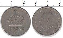 Изображение Дешевые монеты Европа Норвегия 1 крона 1974 Медно-никель XF-