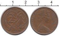 Изображение Дешевые монеты Австралия 2 цента 1966 Медь VF