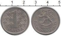 Изображение Дешевые монеты Финляндия 1 марка 1977 Медно-никель XF