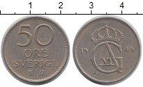 Изображение Дешевые монеты Швеция 50 эре 1964 Медно-никель XF