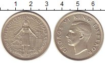 Изображение Монеты Австралия и Океания Новая Зеландия 1/2 кроны 1940 Серебро XF