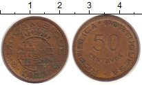 Изображение Монеты Мозамбик 50 сентаво 1973 Бронза XF