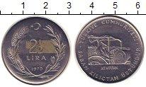 Изображение Монеты Турция 2 1/2 лиры 1970 Сталь XF