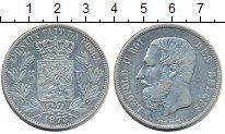 Изображение Монеты Бельгия 5 франков 1873 Серебро XF
