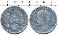 Изображение Монеты Бавария 5 марок 1908 Серебро XF Отто