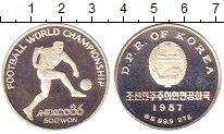 Изображение Монеты Азия Северная Корея 500 вон 1987 Серебро Proof-