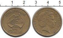 Изображение Монеты Австралия и Океания Австралия 1 доллар 2002 Латунь XF-