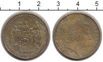 Изображение Монеты Австралия 1 доллар 2009 Латунь XF