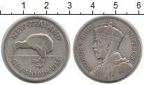 Изображение Монеты Австралия и Океания Новая Зеландия 1 флорин 1933 Серебро XF-