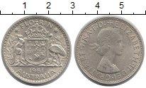 Изображение Монеты Австралия 1 флорин 1961 Серебро XF