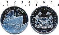 Изображение Мелочь Африка Сьерра-Леоне 1 доллар 2002 Медно-никель UNC
