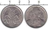 Изображение Монеты Индокитай 20 центов 1941 Медно-никель XF S