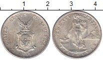 Изображение Монеты Филиппины 20 сентаво 1944 Серебро XF