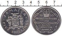 Изображение Монеты Северная Америка Ямайка 5 шиллингов 1966 Медно-никель UNC-