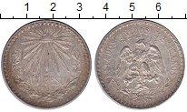 Изображение Монеты Северная Америка Мексика 1 песо 1933 Серебро XF