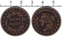 Изображение Монеты США 1 цент 1837 Медь XF