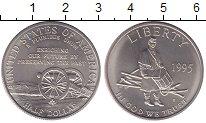 Изображение Монеты Северная Америка США 1/2 доллара 1995 Медно-никель UNC