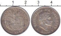 Изображение Монеты Колумбия 20 сентаво 1920 Серебро XF-