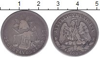 Изображение Монеты Северная Америка Мексика 25 сентаво 1882 Серебро VF