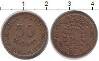 Изображение Монеты Африка Мозамбик 50 сентаво 1957 Медь XF