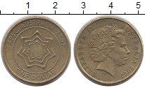 Изображение Монеты Австралия 1 доллар 2007 Латунь XF