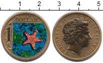 Изображение Монеты Австралия 1 доллар 2007 Латунь UNC-