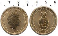 Изображение Монеты Австралия 1 доллар 2011 Латунь XF