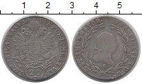 Изображение Монеты Европа Австрия 20 крейцеров 1818 Серебро VF