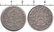 Изображение Монеты Германия Зальцбург 4 крейцера 1723 Серебро XF