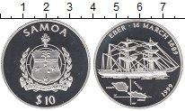Изображение Монеты Самоа 10 долларов 1999 Серебро Proof
