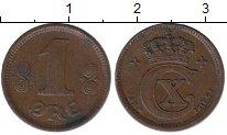 Изображение Монеты Дания 1 эре 1917 Бронза XF