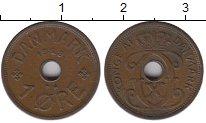 Изображение Монеты Европа Дания 1 эре 1928 Бронза XF