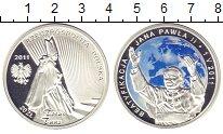 Изображение Монеты Польша 20 злотых 2011 Серебро Proof Цифровая  печать.  Б