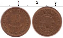 Изображение Монеты Африка Мозамбик 10 сентаво 1960 Медь XF
