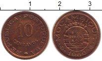 Изображение Монеты Мозамбик 10 сентаво 1960 Медь XF Протекторат  Португа