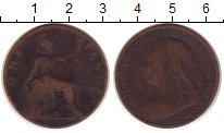 Изображение Монеты Европа Великобритания 1 пенни 1900 Медь VF