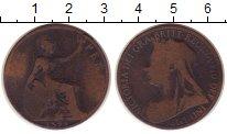 Изображение Монеты Великобритания 1 пенни 1899 Медь VF