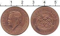 Изображение Монеты Монако 10 франков 1978 Медно-никель XF+