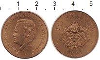 Изображение Монеты Монако 10 франков 1981 Латунь XF+
