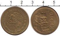 Изображение Монеты Мексика 100 песо 1984 Латунь XF+