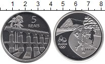 Изображение Монеты Южная Америка Бразилия 5 реалов 2014 Серебро Proof