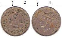 Изображение Монеты Гонконг 50 центов 1951 Медно-никель VF